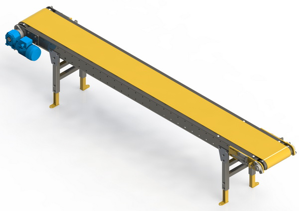 HSC Heavy Duty Slider Bed Conveyor