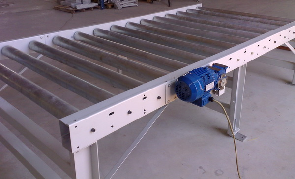 RDS Heavy Duty Sprocket Live Roller Conveyors