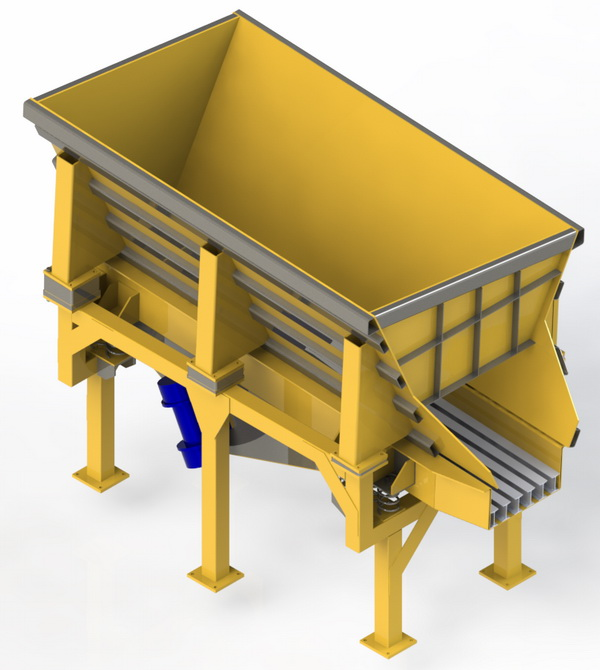 EMV Electromagnetic Vibrating Conveyor
